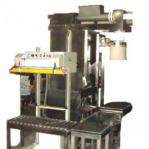 半自动粉料绞龙包装机