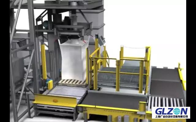 吨袋包装机|包装、装车、卸料应用